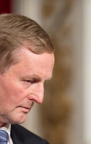 """Irish Prime Minister Enda Kenny, seen in Paris on September 3, 2015, has said he is not in favour of """"abortion on demand"""" (AFP Photo/Alain Jocard)"""