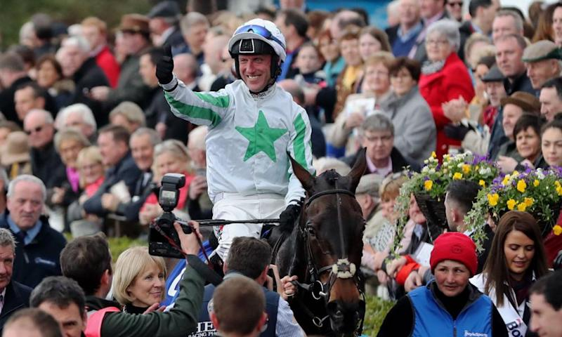 Our Duke and Robbie Power after a decisive victory in the Irish Grand National