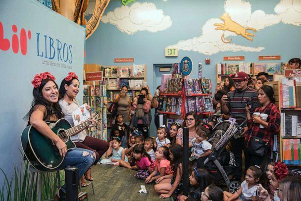 PHOTO: Families attend a Lil' Libros book-signing event held at Barnes & Noble in Long Beach, Calif., in September 2017. (Lily Ro Hernandez)