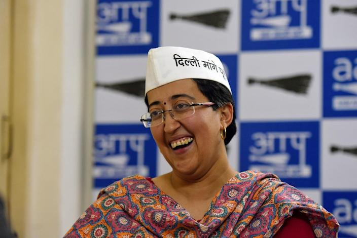 Atishi Marlena (Photo by Amal KS/Hindustan Times via Getty Images)