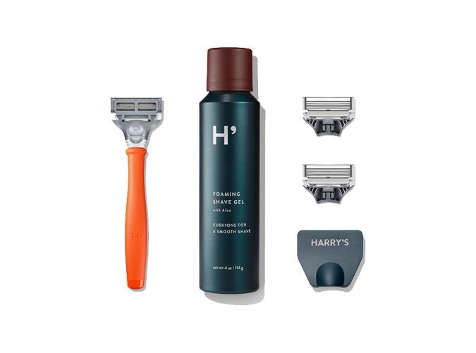 """<h2>17. Harry's</h2> <p><strong>Cost:</strong> $8 for the starter set, $15 per refill</p> <p><strong>What you get: </strong>The starter set includes a razor, blade, shave gel and travel blade cover. Each refill box comes with 8 blades with the option to add on products.</p> <p><strong>Why we love it:</strong> Razors are expensive. This brand wants to change that. Hint: The blades are under $2 a piece.</p> <p><a class=""""link rapid-noclick-resp"""" href=""""https://www.harrys.com/trial"""" rel=""""nofollow noopener"""" target=""""_blank"""" data-ylk=""""slk:Sign up for Harry's"""">Sign up for <em>Harry's</em></a></p>"""