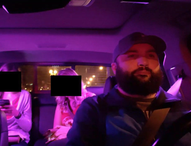 Uber and Lyft suspend driver who live-streamed passengers