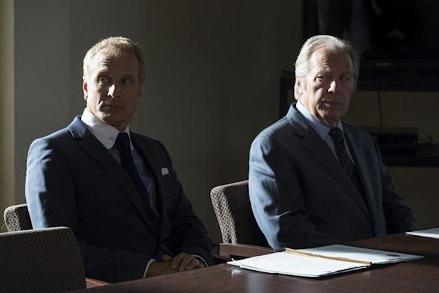 Patrick Fabian as Howard Hamlin and Michael McKean as Chuck McGill in AMC's 'Better Call Saul' (Photo: Michele K. Short/AMC/Sony Pictures Television)