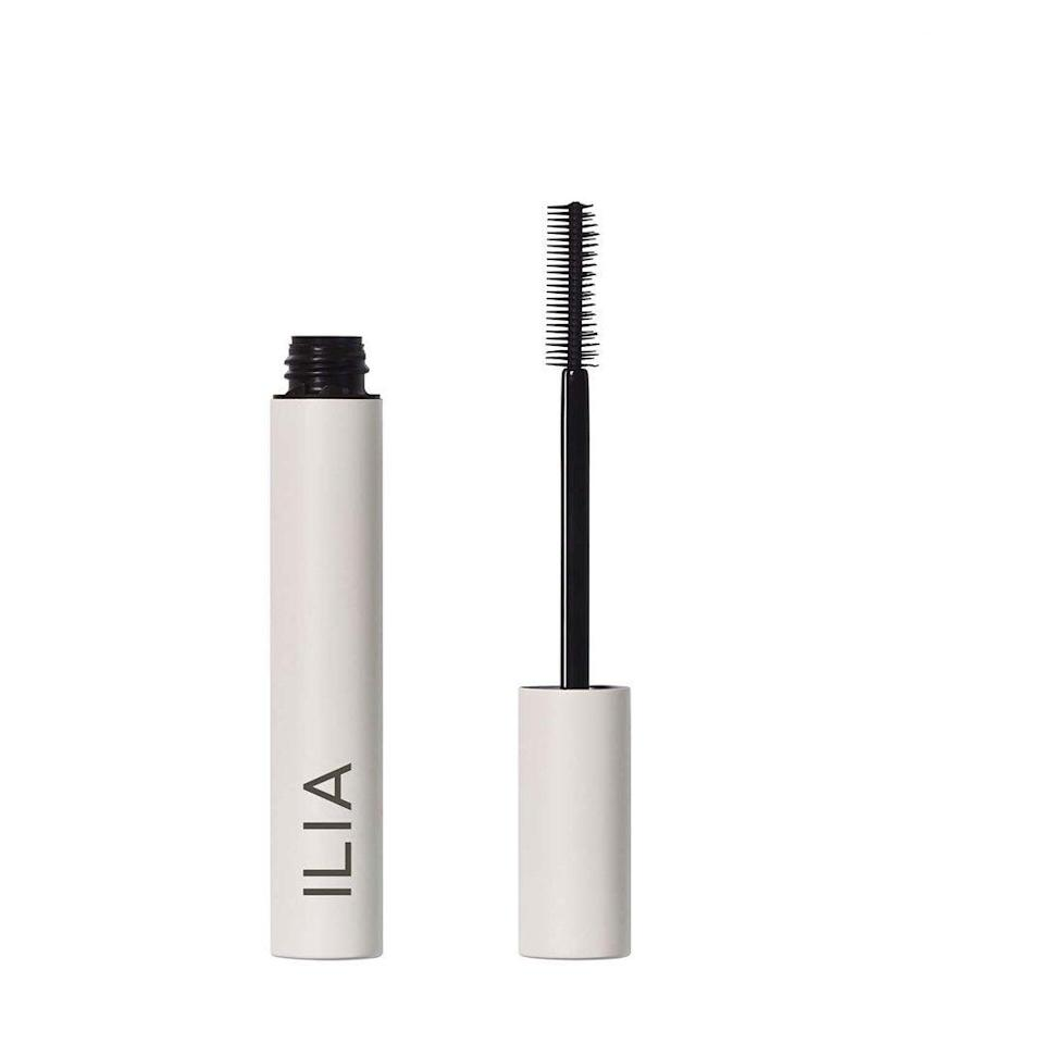 """<br><br><strong>Ilia</strong> Limitless Lash Mascara, $, available at <a href=""""https://go.skimresources.com/?id=30283X879131&url=https%3A%2F%2Fcredobeauty.com%2Fcollections%2Fbestsellers%2Fproducts%2Flimitless-lash-mascara%23locklink"""" rel=""""nofollow noopener"""" target=""""_blank"""" data-ylk=""""slk:Credo Beauty"""" class=""""link rapid-noclick-resp"""">Credo Beauty</a>"""