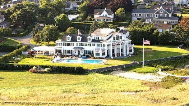 PHOTO: An aerial view of the Kennedy Compound, July 25, 2008, in Hyannisport, Mass. (Tim Gray/Getty Images)
