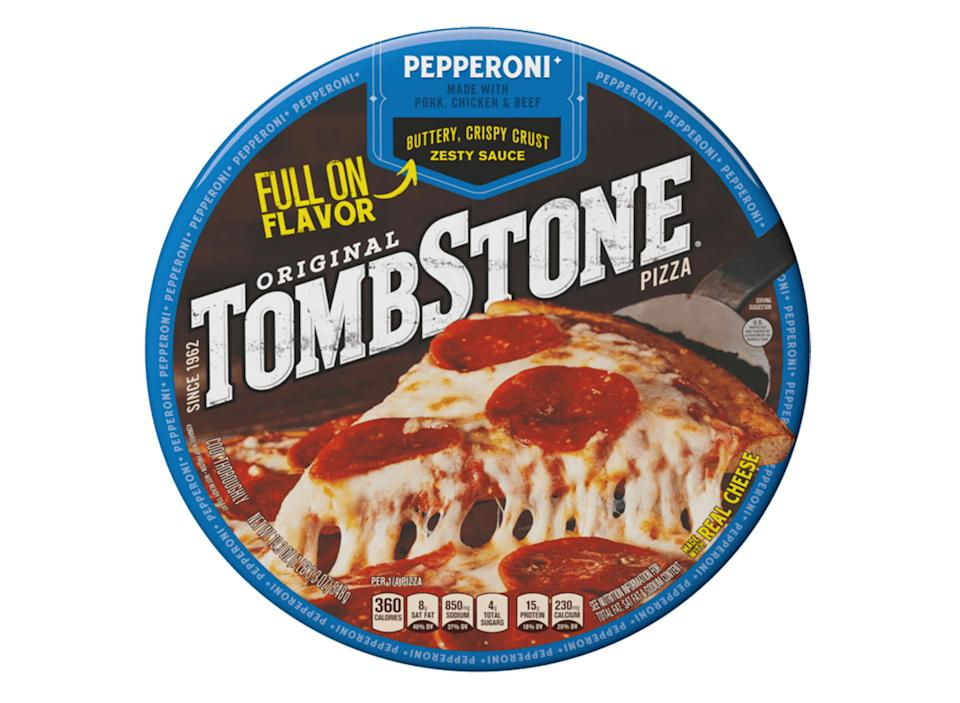 tombstone frozen pepperoni pizza