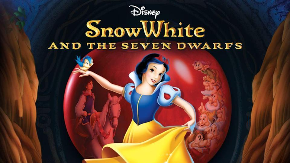 """<p>disneyplus.com</p><p><a href=""""https://go.redirectingat.com?id=74968X1596630&url=https%3A%2F%2Fwww.disneyplus.com%2Fmovies%2Fsnow-white-and-the-seven-dwarfs%2F7X592hsrOB4X&sref=https%3A%2F%2Fwww.redbookmag.com%2Flife%2Fg34929170%2Fbest-disney-movie1%2F"""" rel=""""nofollow noopener"""" target=""""_blank"""" data-ylk=""""slk:WATCH NOW"""" class=""""link rapid-noclick-resp"""">WATCH NOW</a></p><p>This retelling of the classic Grimms' fairytale is the one that started it all. Not only was it the first full-length animated film from Walt Disney Studios, but also the first animated feature ever produced in Technicolor. While many doubted that an audience would be interested in a nearly 90-minute cartoon, it earned $8 million dollars internationally, making it the highest grossing movie of all time up to that point.</p>"""