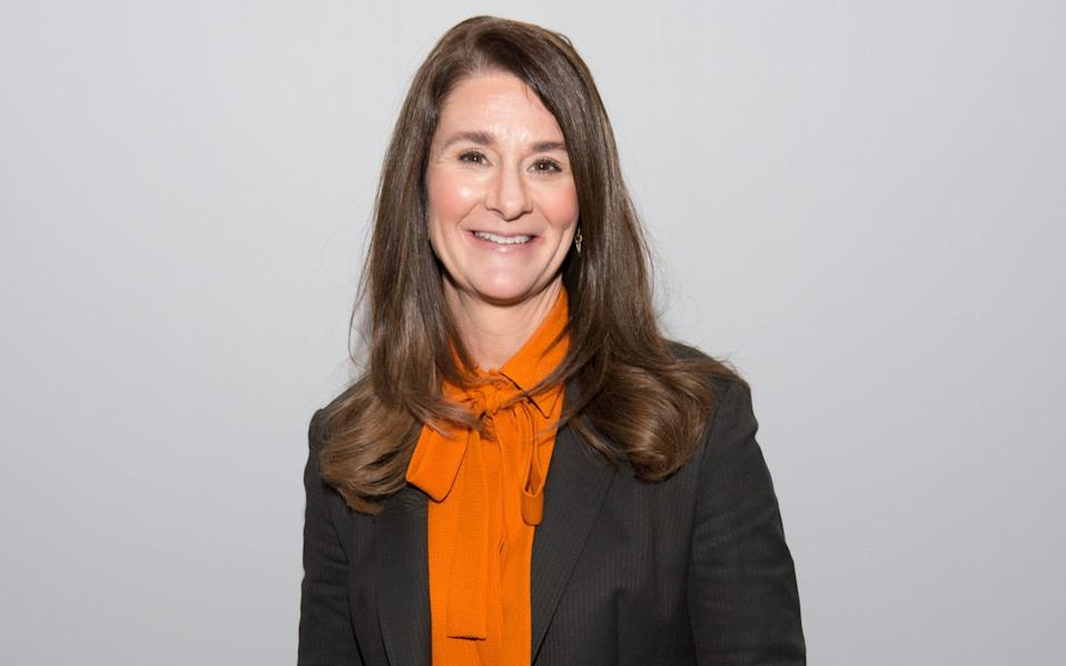 Melinda Gates at an AOL event in March 2015 - WireImage