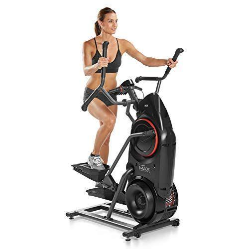 """<p><strong>Bowflex</strong></p><p>amazon.com</p><p><strong>$999.00</strong></p><p><a href=""""https://www.amazon.com/dp/B085N9LTWF?tag=syn-yahoo-20&ascsubtag=%5Bartid%7C2089.g.501%5Bsrc%7Cyahoo-us"""" rel=""""nofollow noopener"""" target=""""_blank"""" data-ylk=""""slk:Shop Now"""" class=""""link rapid-noclick-resp"""">Shop Now</a></p><p>This Bowflex machine combines everything you love about an elliptical and a stair stepper machine into one product. It may seem basic in function, but it's top-of-the-line when it comes to performance. </p><p>While this exercise machine doesn't have a full screen, you'll still be able to track all necessary information. The Max Trainer's burn rate display shows calories burned and gives you activity targets to hit, too. You'll stay motivated to continue hitting different target zones and resistance levels. </p><p>In just 14 minutes on this machine, you'll experience all the cardio benefits typically achieved from internal training.<br></p>"""