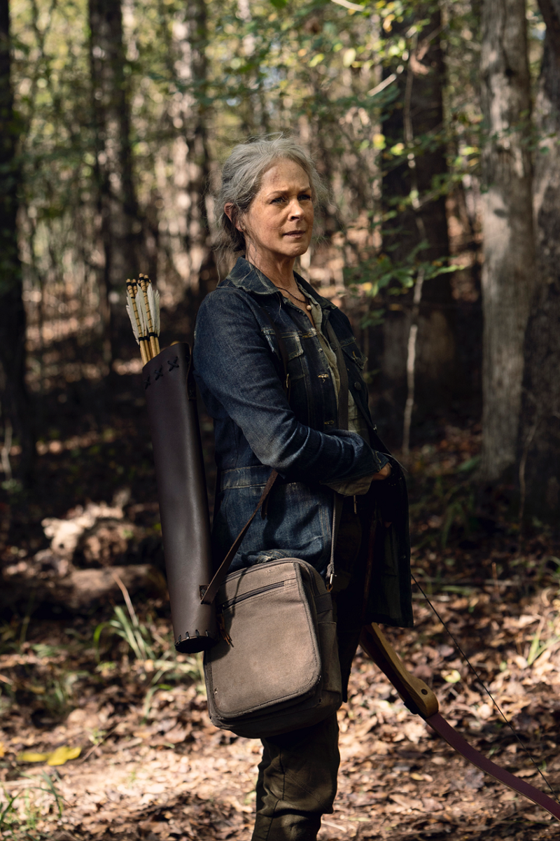 Melissa McBride said it was rewarding to portray a character who has transformed so much throughout the series. — Picture courtesy of Disney