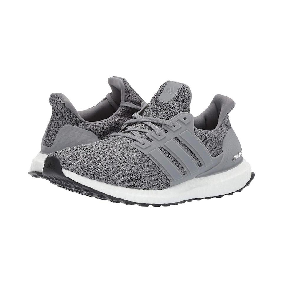 """<p>Who doesn't want a comfortable pair of stylish sneakers that can go from the gym to date night? This top-rated pair from Adidas come in a slew of color combinations to suit his style and despite being lightweight, offer substantial support.<br><strong><a href=""""https://fave.co/2QO4gRz"""" rel=""""nofollow noopener"""" target=""""_blank"""" data-ylk=""""slk:Shop it"""" class=""""link rapid-noclick-resp"""">Shop it</a>:</strong> $180,<a href=""""https://fave.co/2QO4gRz"""" rel=""""nofollow noopener"""" target=""""_blank"""" data-ylk=""""slk:zappos.com"""" class=""""link rapid-noclick-resp""""> zappos.com</a> </p>"""