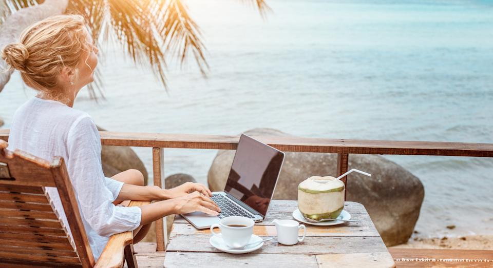 A coffee company is offering to pay someone £24,000 to quit their job and travel the world [Image: Getty]