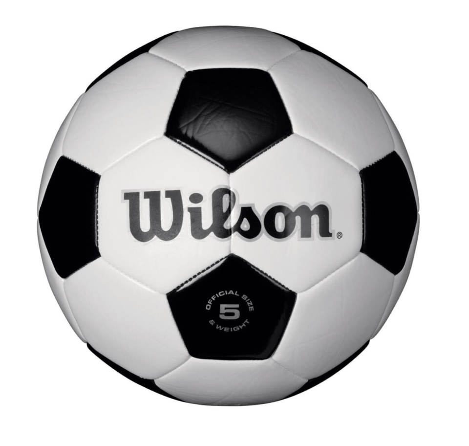 """<p><strong>Wilson</strong></p><p>amazon.com</p><p><a href=""""https://www.amazon.com/dp/B001C3O8O8/?tag=syn-yahoo-20&ascsubtag=%5Bartid%7C10055.g.26859132%5Bsrc%7Cyahoo-us"""" rel=""""nofollow noopener"""" target=""""_blank"""" data-ylk=""""slk:Shop Now"""" class=""""link rapid-noclick-resp"""">Shop Now</a></p><p>This soccer ball has great quality especially for the price. Kids can <strong>focus on physical development and social skills</strong> while playing soccer in their backyards with friends or family. The synthetic leather cover increases its durability, so the ball should last with them a few years until they are ready for the next size. Size 3 is best for kids under 8 years old. <em>Ages 8 and under</em><br></p>"""