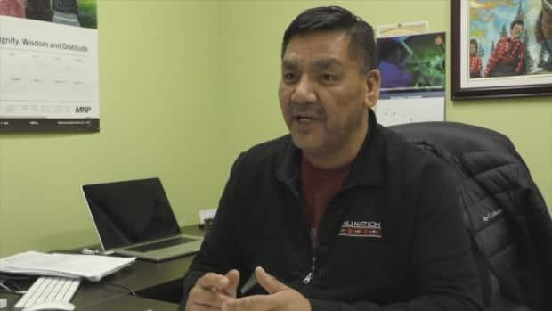 Mushuau Innu First Nation Chief John Nui says he was not consulted on the changes by the RCMP. (CBC - image credit)