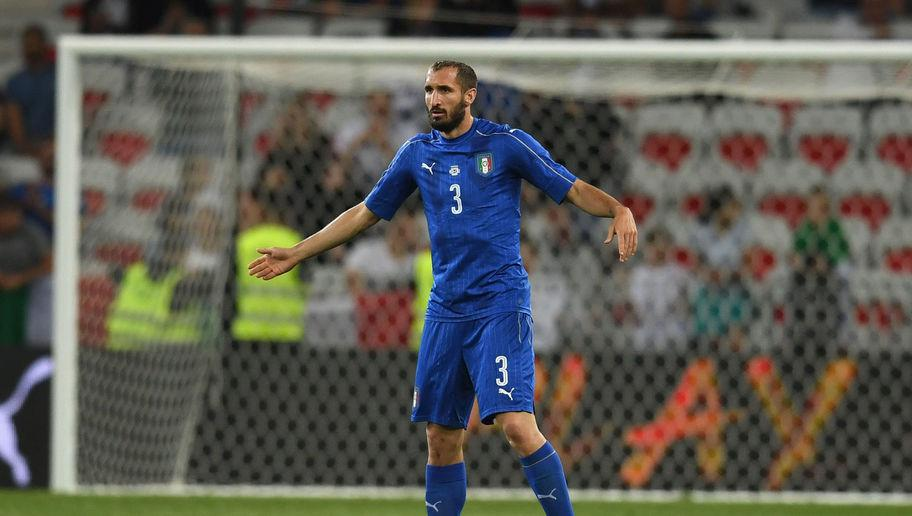 <p>The Juventus centre-back has been a stalwart at the Old Lady since he broke into the first team in 2005-06. </p> <br /><p>He has won the Serie A title six times and has won three Coppa Italias. He is however most famous for being involved in the Luis Suarez biting scandal at the 2014 World Cup.</p>