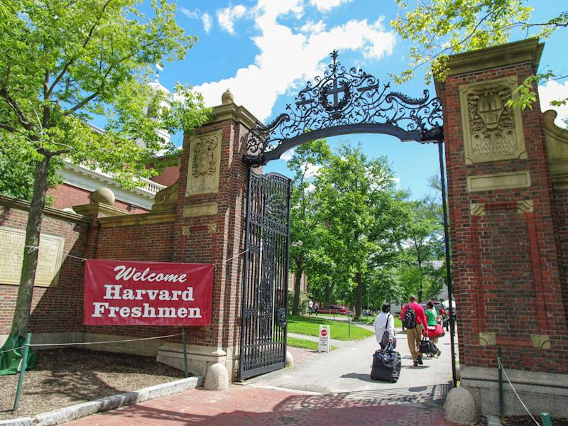 Snowplow parents clear the road for their kids to be successful and get into universities like Harvard: Getty Images