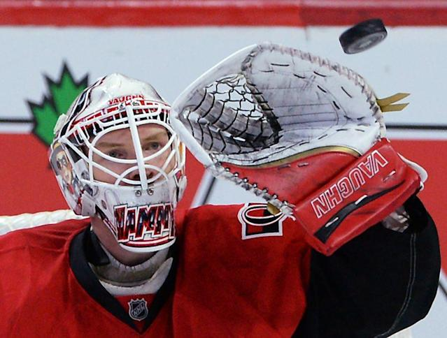 Hot goaltenders face tricky contract situations with Ottawa and Minnesota