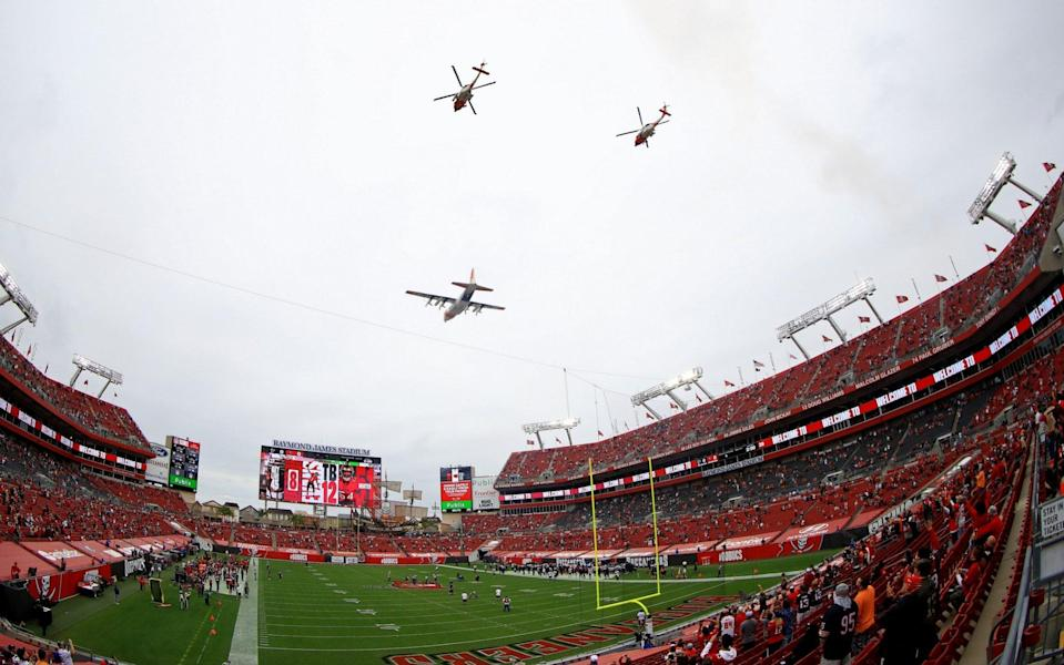 A general view during a game between the Tampa Bay Buccaneers and the Atlanta Falcons at Raymond James Stadium on January 03, 2021 in Tampa, Florida. - GETTY IMAGES