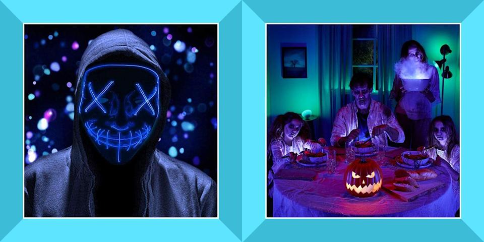 "<p>As we navigate our lives in the midst of a global pandemic, holidays are already starting to look a little different this year. The CDC has even deemed trick-or-treating a <a href=""https://www.cdc.gov/coronavirus/2019-ncov/daily-life-coping/holidays.html#halloween"" rel=""nofollow noopener"" target=""_blank"" data-ylk=""slk:high-risk activity"" class=""link rapid-noclick-resp"">high-risk activity</a>. </p><p>If you want to make the most of your Halloween at home, consider adding some unique gadgets to your house to liven things up a bit. We'll help you shop for everything you need to have a high-tech Halloween at home, from animatronics to <a href=""https://www.bestproducts.com/home/decor/g1732/halloween-lights-decorations/"" rel=""nofollow noopener"" target=""_blank"" data-ylk=""slk:cool lights"" class=""link rapid-noclick-resp"">cool lights</a> to <a href=""https://www.bestproducts.com/tech/gadgets/g3467/smart-speakers-alexa-google-assistant-cortana/"" rel=""nofollow noopener"" target=""_blank"" data-ylk=""slk:smart speakers"" class=""link rapid-noclick-resp"">smart speakers</a>. Be sure to also check out our guide to having the ultimate <a href=""https://www.bestproducts.com/lifestyle/g33483670/halloween-movie-marathon-ideas/"" rel=""nofollow noopener"" target=""_blank"" data-ylk=""slk:Halloween movie marathon"" class=""link rapid-noclick-resp"">Halloween movie marathon</a> while you're at it!</p>"
