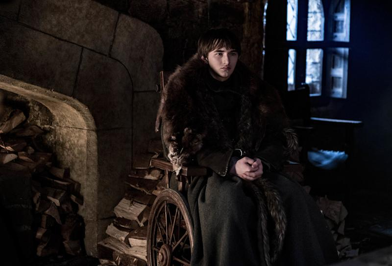 Isaac Hempstead Wright as Bran Stark in <i>Game of Thrones</i>. (Photo: Helen Sloan/HBO)