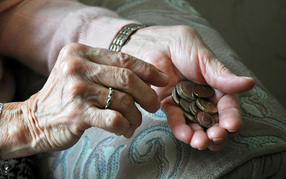 Women in their early 60s have become poorer as a result of delays to their state pension (PA)