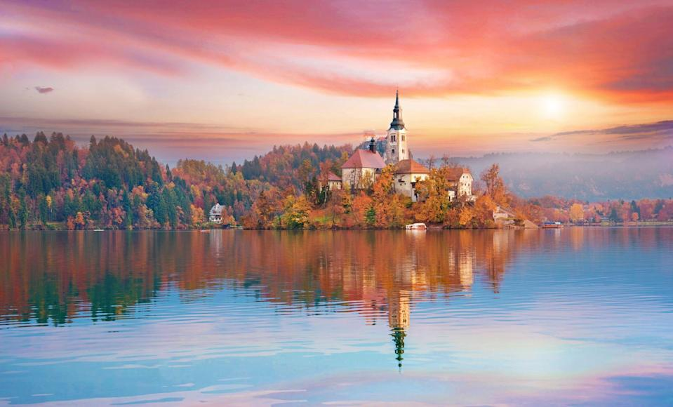"""<p>Lake Bled is probably the first place that springs to mind when you think of <a href=""""https://www.countrylivingholidays.com/tours/lake-bled-slovenia-munich-walking-tour"""" rel=""""nofollow noopener"""" target=""""_blank"""" data-ylk=""""slk:Slovenia"""" class=""""link rapid-noclick-resp"""">Slovenia</a>. This serene glacial lake captivates travellers throughout the seasons and is undeniably beautiful – and it's just one of Slovenia's many beauty spots.</p><p>If you're a fan of <a href=""""https://www.countryliving.com/uk/travel-ideas/abroad/a29189708/lake-mountain-holidays/"""" rel=""""nofollow noopener"""" target=""""_blank"""" data-ylk=""""slk:lakes and mountain holidays"""" class=""""link rapid-noclick-resp"""">lakes and mountain holidays</a>, Slovenia is a dream and is packed with natural sights to soak up, from Lake Bled to its majestic peaks.</p><p><a class=""""link rapid-noclick-resp"""" href=""""https://www.countrylivingholidays.com/tours/lake-bled-slovenia-munich-walking-tour"""" rel=""""nofollow noopener"""" target=""""_blank"""" data-ylk=""""slk:VISIT BLED WITH COUNTRY LIVING"""">VISIT BLED WITH COUNTRY LIVING</a></p><p>The tiny country that sits in the heart of Europe is characterised by its blue lakes, endless mountains and charming towns. Its capital city Ljubljana is one one of the greenest cities in Europe, while the striking Julian Alps dazzles with its peak Mt Triglav and lovely Lake Bohinj (which, in our opinion, is just as charming as Bled).</p><p>During a holiday to Slovenia, <a href=""""https://www.countryliving.com/uk/travel-ideas/staycation-uk/a35921275/best-walking-holidays-uk/"""" rel=""""nofollow noopener"""" target=""""_blank"""" data-ylk=""""slk:walking"""" class=""""link rapid-noclick-resp"""">walking</a> is a must, while cycling and getting around by coach or train are other ways to explore the compact country. </p><p>From outstanding lake views to picturesque waterfalls, Slovenia has plenty to entertain lovers of nature. In fact, you can get to know the country's best bits by joining <a href=""""https://www.countrylivingholidays.com/tours/lake-bled"""