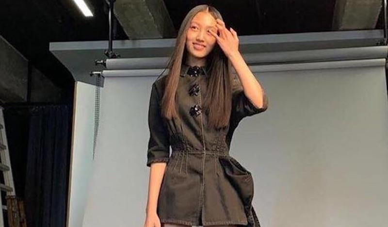Ella Yam, daughter of Simon Yam, wowed Chinese social media users with her lanky figure after posting behind-the-scenes photos of her shoot with Vogue Taiwan. — Picture courtesy of Instagram/ellayamofficial