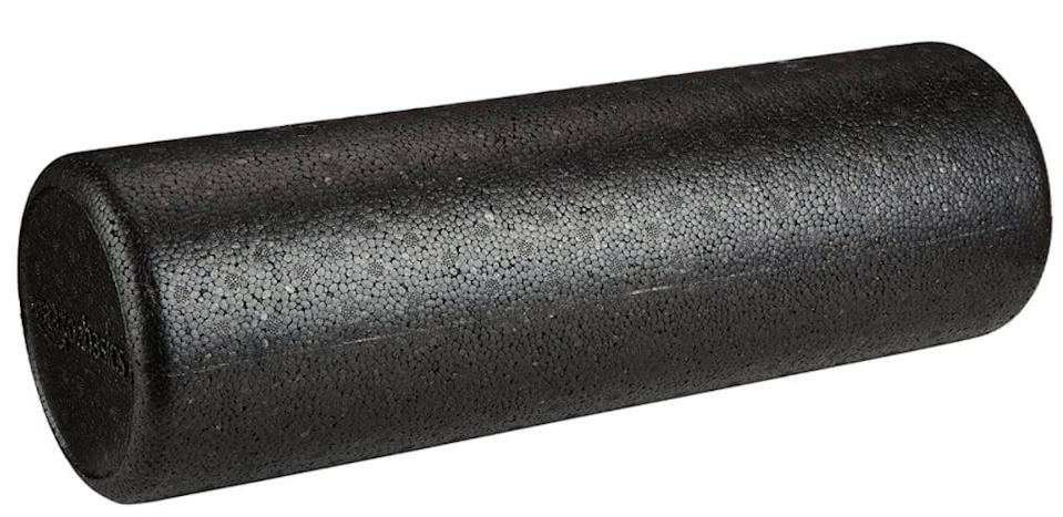 <p>This <span>AmazonBasics High-Density Round Foam Roller</span> ($16) is extrafirm and designed to offer a deeper massage than the standard foam roller. Plus, it's lightweight and easy to clean - ideal for on-the-go workout recovery.</p>