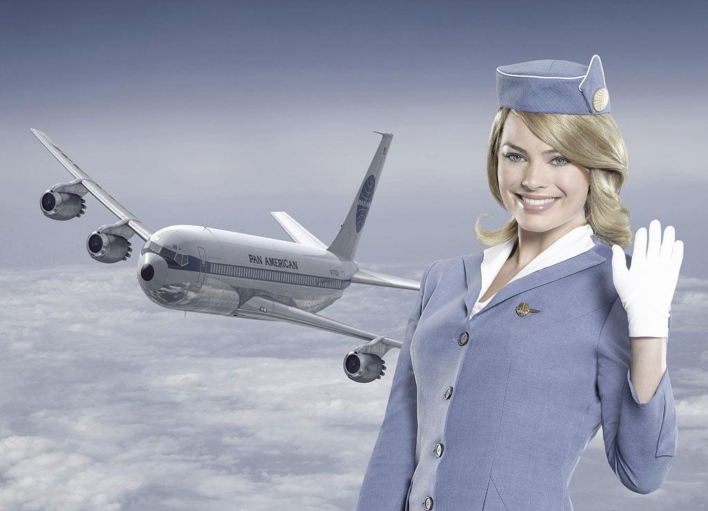 "PAN AM - ABC's ""Pan Am"" stars Margot Robbie as Laura. (ABC/BOB D'AMICO)"