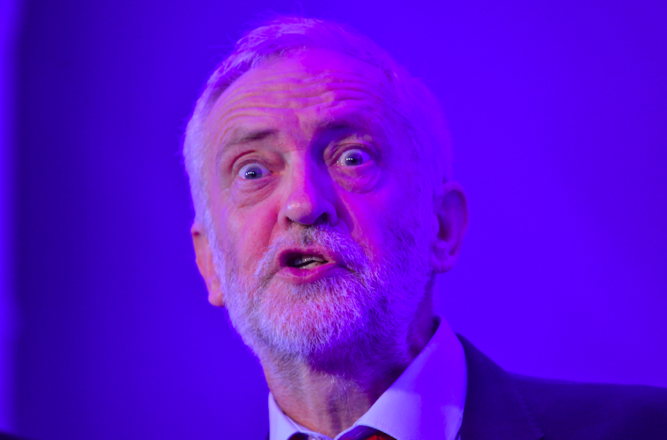 <em>Izzard said he is dedicated to supporting Jeremy Corbyn becoming Prime Minister (Rex)</em>