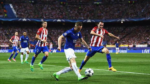 Club Atletico de Madrid v Leicester City - UEFA Champions League Quarter Final: First Leg
