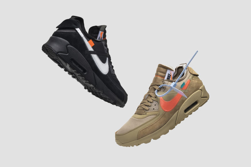 NIKE AIR MAX OFF-WHITE SNEAKERS — GOAT