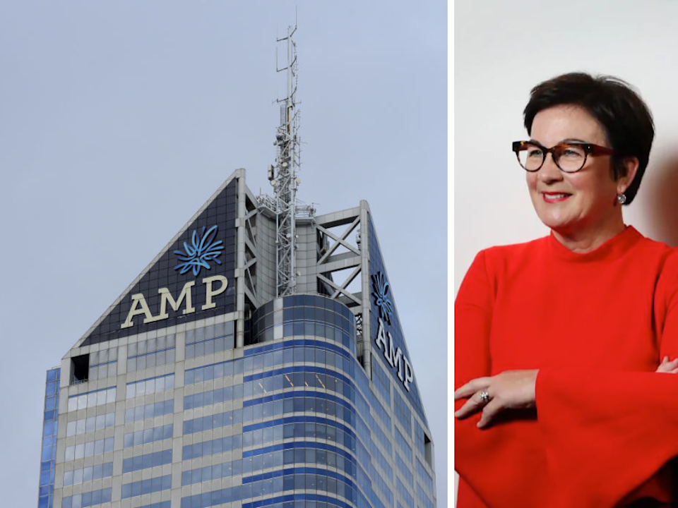 Andrea Slattery has joined the board of AMP, bringing the total number of women board directors to one. <em>(Photo: Getty, Adam Taylor)</em>
