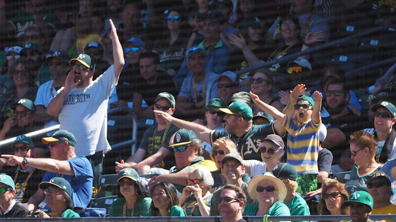 A's sign fan who wowed with viral in-stadium pitching challenge