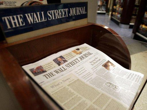Wall Street Journal says also hit by Chinese hackers