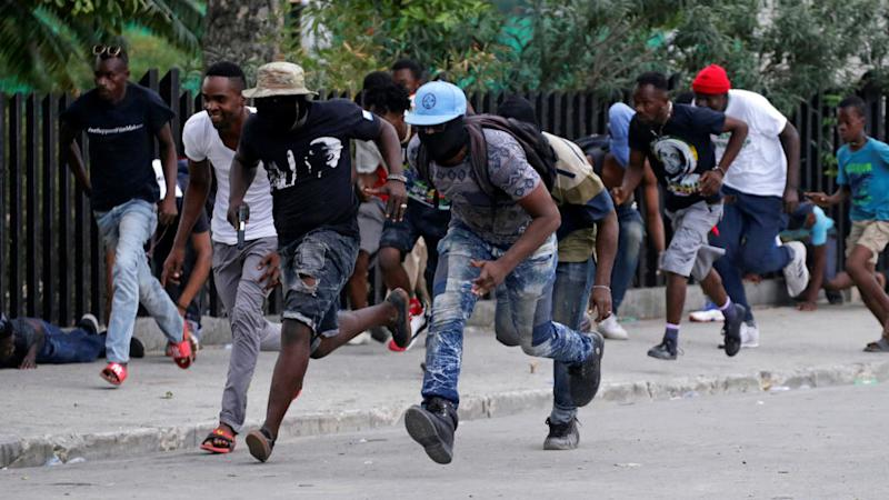 Police demonstration at Haiti's presidential palace turns deadly