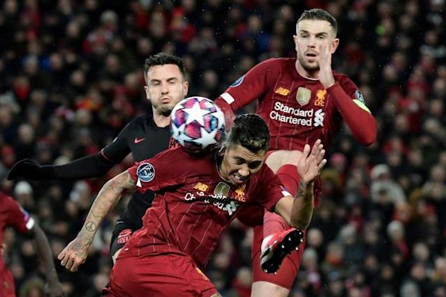 UEFA say they followed British Government advice in allowing the Liverpool v Atletico Madrid Champions League game to go ahead on March 11 (AFP Photo/JAVIER SORIANO)