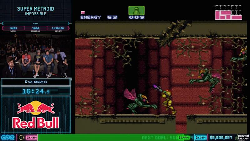 Awesome Games Done Quick 2020 raises $3.1 million for Prevent Cancer Foundation