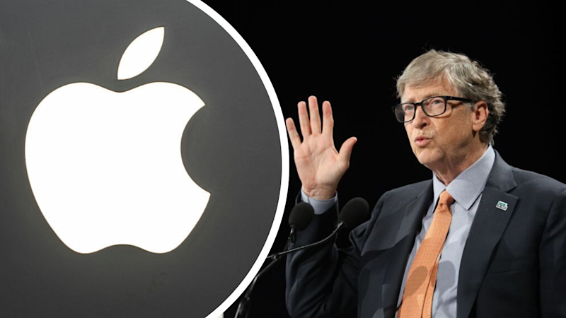 Why Bill Gates owns a $2.7 billion stake in Apple. Source: Getty