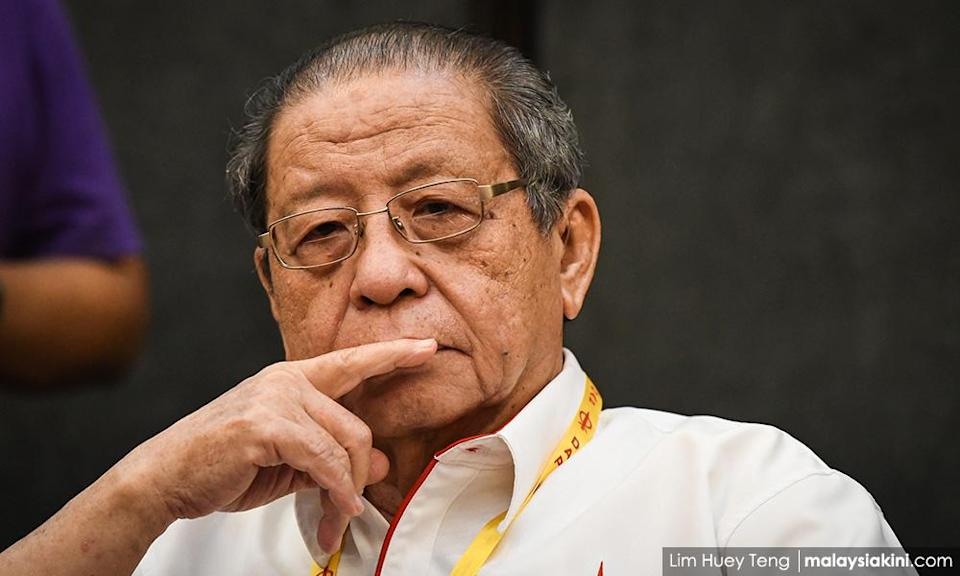 Kit Siang ties Zahid reaffirming PN support with NFA for PAS minister
