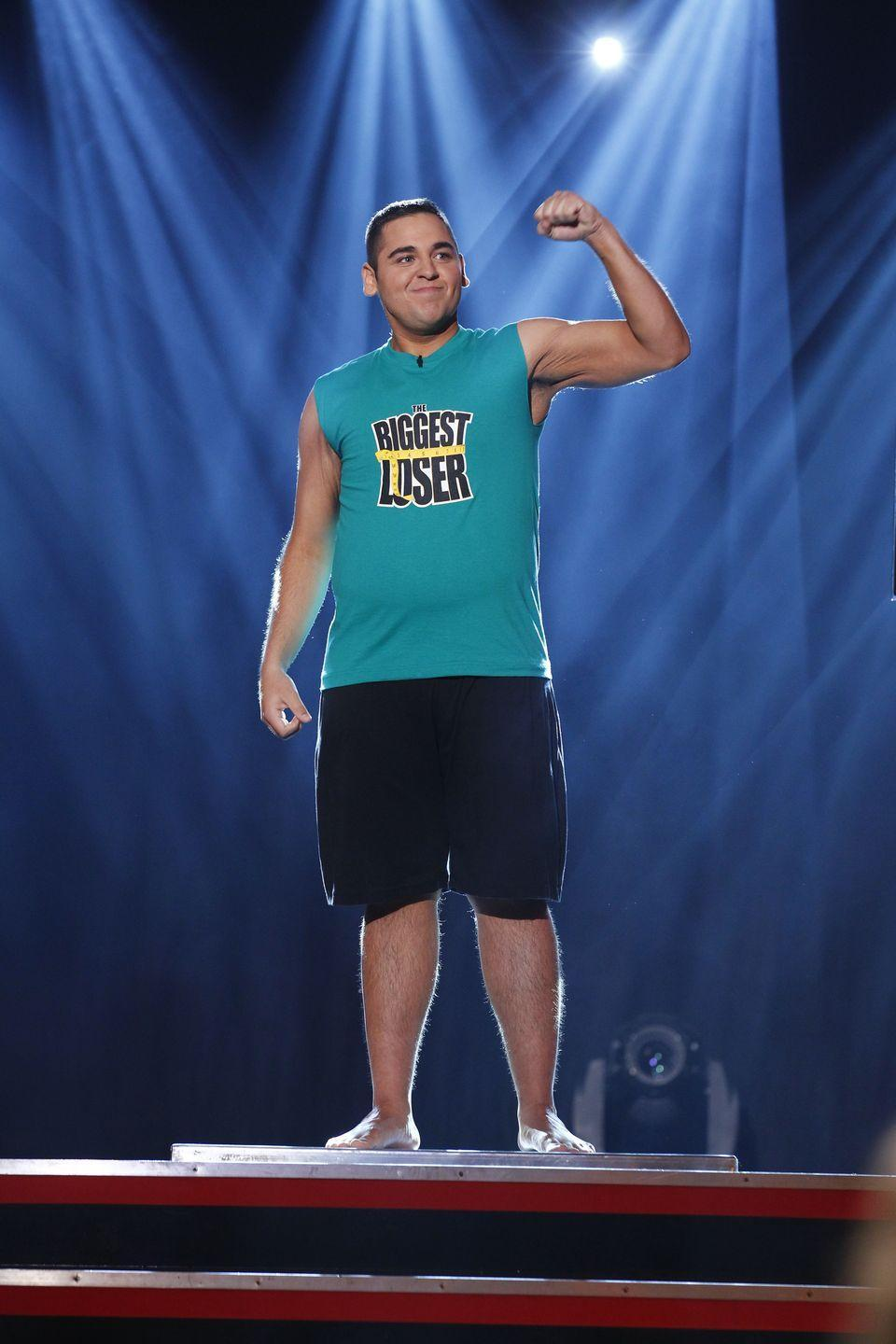 <p>Jeremy was not messing around in season 13. He lost 199 pounds to nab the title of <em>The Biggest Loser</em>. At 23, he was the youngest contestant to ever win the show.</p>