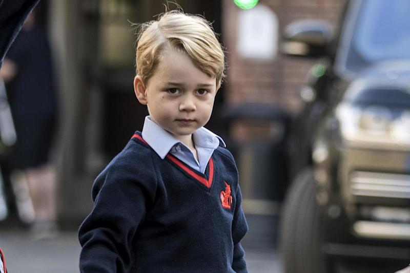 Plot: encrypted posts referred to Prince George: Getty Images