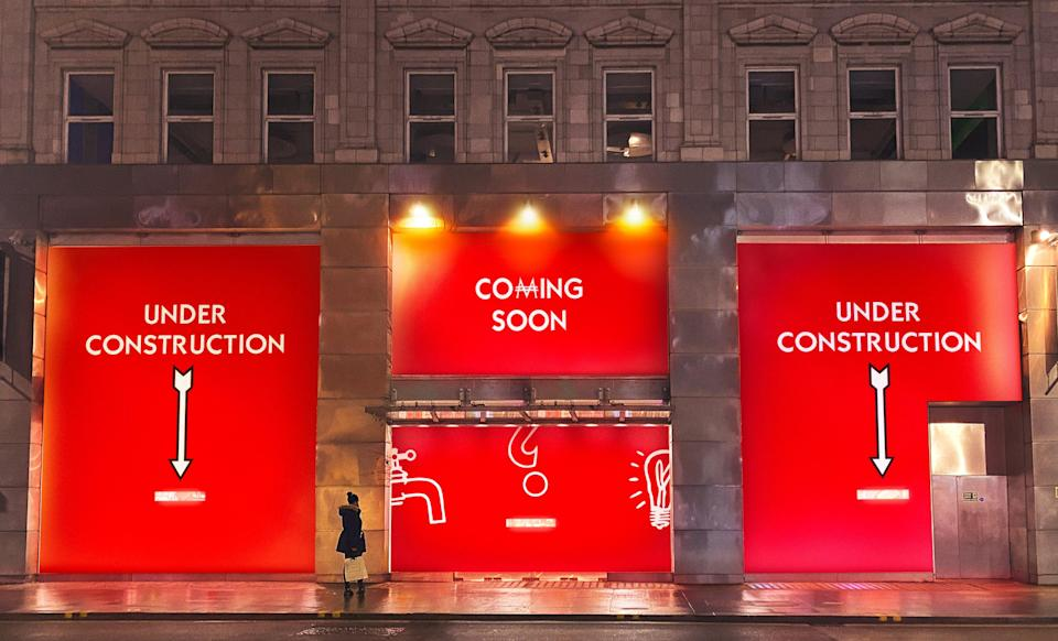 <p>The old Paperchase building on Tottenham Court Road is being converted into the home of a giant immersive Monopoly game</p> (PR Handout)