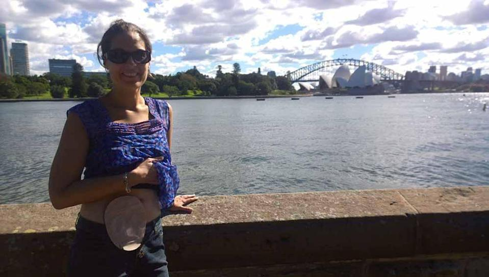 Laura in Sydney, Australia. PA REAL LIFE COLLECT