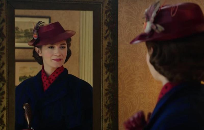 A new teaser trailer has given a first look at Emily Blunt starring as Mary Poppins. Source: Disney