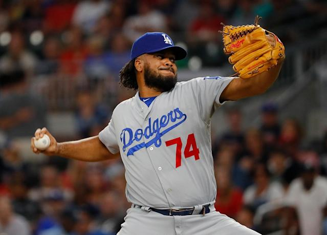 The Dodgers' bullpen is more than just Kenley Jansen, though he's pretty excellent. (Photo by Kevin C. Cox/Getty Images)