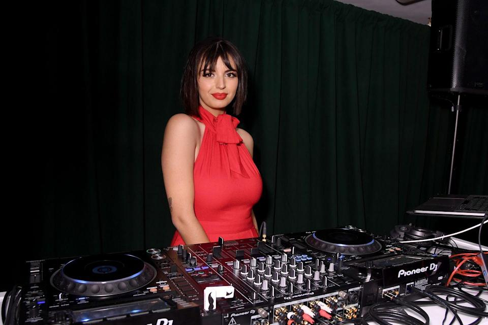 """<p>Hyperpop queen and the voice behind 2011's """"Friday,"""" Rebecca Black recently came out as queer when she was a guest on the <em><a href=""""https://www.youtube.com/watch?v=YbNrPY-il0E"""" rel=""""nofollow noopener"""" target=""""_blank"""" data-ylk=""""slk:Dating Straight"""" class=""""link rapid-noclick-resp"""">Dating Straight </a></em><a href=""""https://www.youtube.com/watch?v=YbNrPY-il0E"""" rel=""""nofollow noopener"""" target=""""_blank"""" data-ylk=""""slk:podcast"""" class=""""link rapid-noclick-resp"""">podcast</a> in 2020.</p><p>""""One of the things that I love so much about the LGBTQ community is that they embrace inclusiveness. I definitely see sexuality as being on a spectrum,"""" Black said. """"You can definitely be on one end of the spectrum or the other. With there being a spectrum, there is this huge middle ground. I definitely see myself as being on that spectrum.""""</p>"""