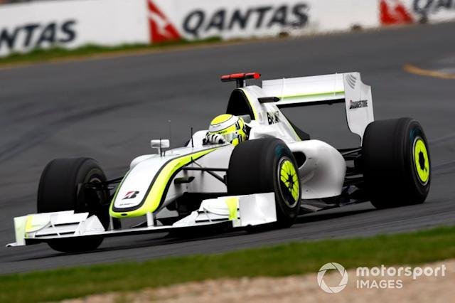 "Brawn GP BGP001 (2009) <span class=""copyright"">Andrew Ferraro / Motorsport Images</span>"