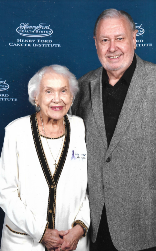 A picture of Alice Lawson and her son Johnny Lawson.