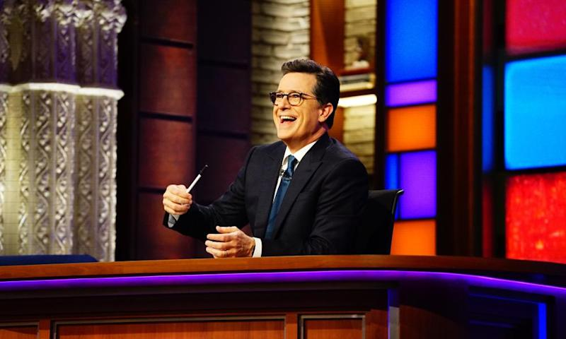 The Late Show with Stephen Colbert: 'Microwaves that turn into cameras. How do you think we film this show?'
